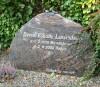 Arne Elbæk Lauridsens gravsten
