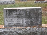 RA Lund & EA Lund gravestone Red Deer Alberta Canada cemetary